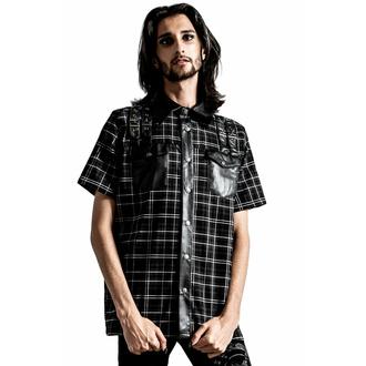 Camicia da uomo KILLSTAR - Daze Button-Up - ASH TARTAN, KILLSTAR