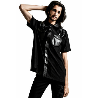 Camicia da uomo KILLSTAR - Daze Abbottonare - NERO, KILLSTAR