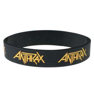 Braccialetto in gomma Anthrax - ROCK OFF, ROCK OFF, Anthrax