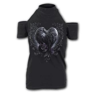 t-shirt donna - RAVEN HEART - SPIRAL, SPIRAL