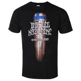 Maglietta da uomo Impaled Nazarene - Suomi Finland Perkele - RAZAMATAZ, RAZAMATAZ, Impaled Nazarene