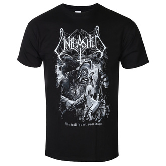 t-shirt metal uomo Unleashed - We Will Hunt You Down - NAPALM RECORDS, NAPALM RECORDS, Unleashed