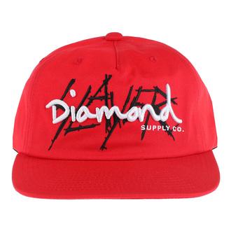 Berretto SLAYER - DIAMOND - non strutturati - Rosso, DIAMOND, Slayer