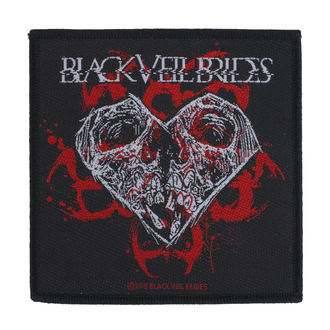 toppa Black Veil Brides - Skull Heart - RAZAMATAZ, RAZAMATAZ, Black Veil Brides