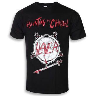 t-shirt metal uomo Slayer - Haunting The Chapel - ROCK OFF, ROCK OFF, Slayer