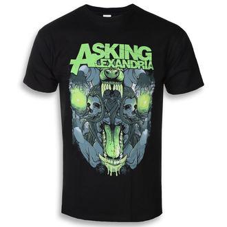 t-shirt metal uomo Asking Alexandria - Teeth - ROCK OFF, ROCK OFF, Asking Alexandria