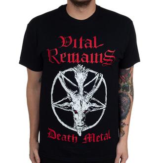 Maglietta da uomo Vital Remains - Death Metal - Nero - INDIEMERCH, INDIEMERCH, Vital Remains