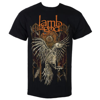 t-shirt metal uomo Lamb of God - Crow - ROCK OFF, ROCK OFF, Lamb of God