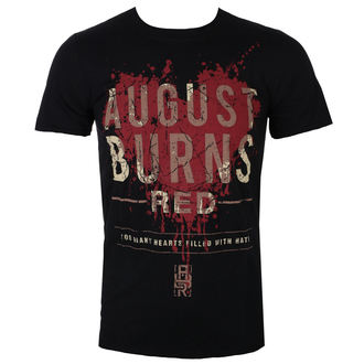 t-shirt metal uomo August Burns Red - Heart Filled - ROCK OFF, ROCK OFF, August Burns Red