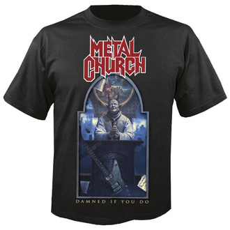 t-shirt metal uomo Metal Church - Damned if you do - NUCLEAR BLAST, NUCLEAR BLAST, Metal Church