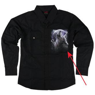 camicia uomo con lungo manica SPIRAL - WOLF SOUL - DANNEGGIATO, SPIRAL