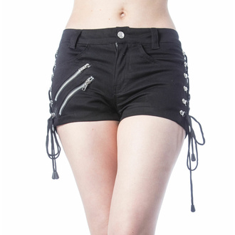 Pantaloncini da donna VIXXSIN - DINA - NERO, VIXXSIN
