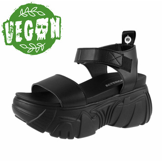 Sandali da donna ALTERCORE - Draconia Vegan - Nero, ALTERCORE