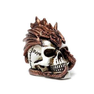Decorazione ALCHEMY GOTHIC - Dragon Keeper Skull, ALCHEMY GOTHIC