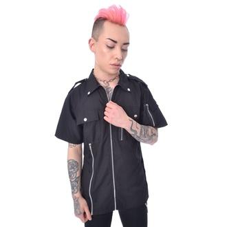 Camicia da uomo Vixxsin - DRAKE - NERO, VIXXSIN
