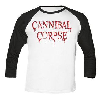t-shirt metal uomo Cannibal Corpse - Dripping logo BASEBALL - NUCLEAR BLAST, NUCLEAR BLAST, Cannibal Corpse