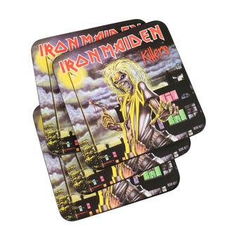 Sottobicchieri IRON MAIDEN - ROCK OFF, ROCK OFF, Iron Maiden