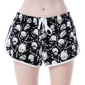 Pantaloncini da donna KILLSTAR - Drowsy - NERO, KILLSTAR