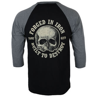 t-shirt metal uomo Black Label Society - FORGED IN IRON - PLASTIC HEAD, PLASTIC HEAD, Black Label Society