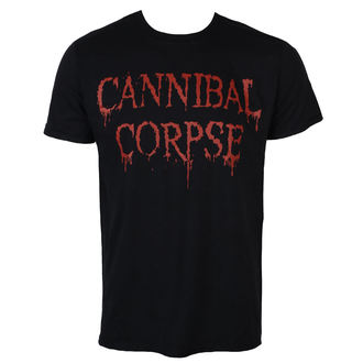 t-shirt metal uomo Cannibal Corpse - DRIPPING LOGO - PLASTIC HEAD, PLASTIC HEAD, Cannibal Corpse