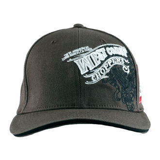 berretto West Coast Choppers - WINGS - Antracite, West Coast Choppers