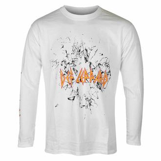 Maglietta da uomo a maniche lunghe Def Leppard - Shatter - Nero - ROCK OFF, ROCK OFF, Def Leppard