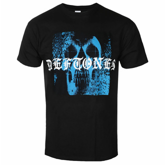 Maglietta da uomo Deftones - Static Skull - Nero - ROCK OFF, ROCK OFF, Deftones
