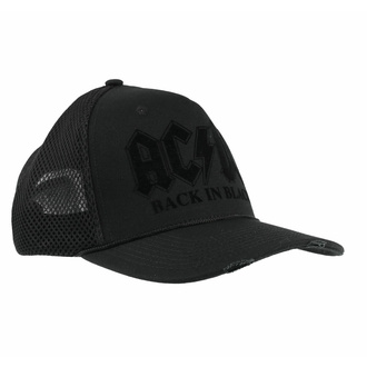 Cappello AC/DC - BACK IN BLACK - AMPLIFIED, AMPLIFIED, AC-DC