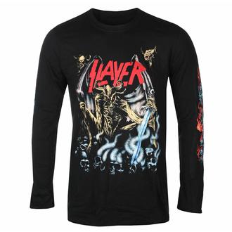 Maglietta da uomo a maniche lunghe Slayer - Airbrush Demon - Nero - ROCK OFF, ROCK OFF, Slayer