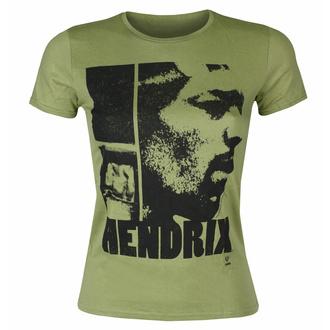 Maglietta da donna Jimi Hendrix - Let Me Live Scoop - KHAKI - ROCK OFF, ROCK OFF, Jimi Hendrix