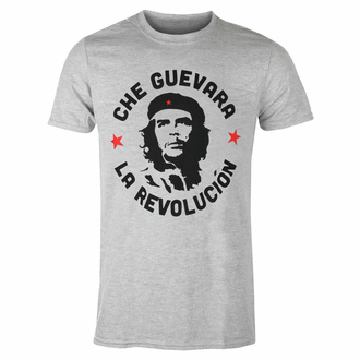 Maglietta da uomo Che Guevara - Circle Logo - GRIGIO - ROCK OFF, ROCK OFF, Che Guevara