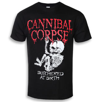 t-shirt metal uomo Cannibal Corpse - BUTCHERED AT BIRTH BABY - PLASTIC HEAD, PLASTIC HEAD, Cannibal Corpse