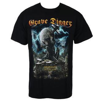 t-shirt metal uomo Grave Digger - EXHUMATION CLAN - Just Say Rock, Just Say Rock, Grave Digger
