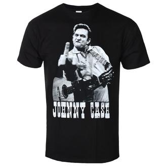 Maglietta da uomo JOHNNY CASH - FINGER SALUTE - NERO - GOT TO HAVE IT, GOT TO HAVE IT, Johnny Cash