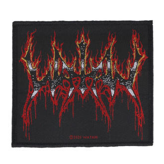 toppa Watain - Flaming Logo - RAZAMATAZ, RAZAMATAZ, Watain