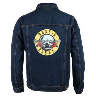 Giacca da uomo Guns N' Roses - Classic Logo - DENIM - ROCK OFF, ROCK OFF, Guns N' Roses