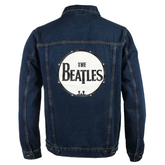 Giacca da uomo Beatles - Drum Logo - DENIM - ROCK OFF, ROCK OFF, Beatles