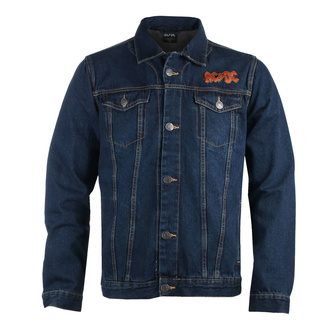 Giacca da uomo AC / DC - About To Rock - DENIM - ROCK OFF, ROCK OFF, AC-DC