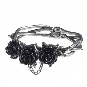 Braccialetto ALCHEMY GOTHIC - Wild Black Rose, ALCHEMY GOTHIC