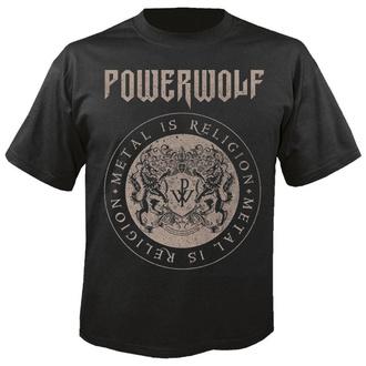 Maglietta da uomo POWERWOLF - Crest circle - NUCLEAR BLAST, NUCLEAR BLAST, Powerwolf