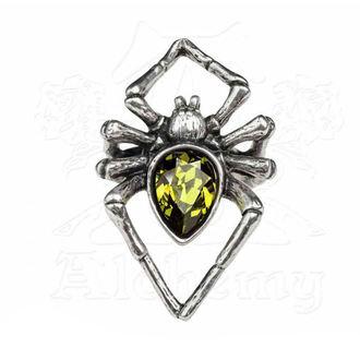 Anello ALCHEMY GOTHIC - Emerald Venom