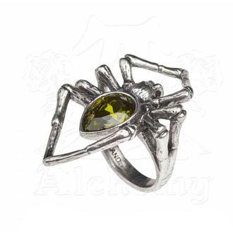 Anello ALCHEMY GOTHIC - Emerald Venom, ALCHEMY GOTHIC