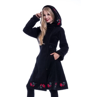 Cappotto da donna Poizen Industries - EMILLA - NERO, POIZEN INDUSTRIES