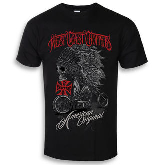 t-shirt uomo - Solid Black - West Coast Choppers, West Coast Choppers
