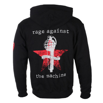 felpa con capuccio uomo Rage against the machine - Bulls On Parade Mic - NNM, NNM, Rage against the machine
