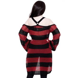 Maglione da donna KILLSTAR - Hemoglbin - NERO, KILLSTAR