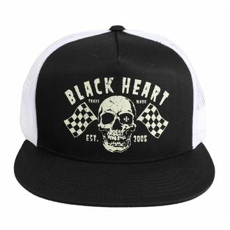 Cappello BLACK HEART - FLAG - BIANCO, BLACK HEART