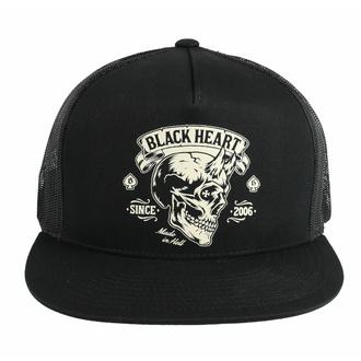 Cappello BLACK HEART - DEVIL SKULL, BLACK HEART