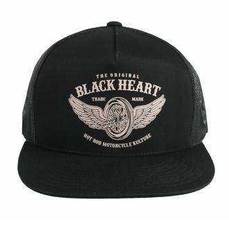 Cappello BLACK HEART - WINGS - NERO, BLACK HEART