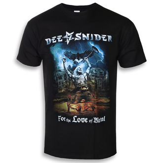 t-shirt metal uomo Dee Snider - For The Love Of Metal - NAPALM RECORDS, NAPALM RECORDS, Dee Snider